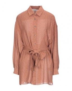 Pубашка AMERICAN VINTAGE. Цвет: ржаво-коричневый