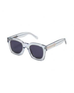 Солнечные очки KAREN WALKER. Цвет: прозрачный
