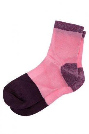 Носки HAPPY SOCKS. Цвет: мультицвет, розовый