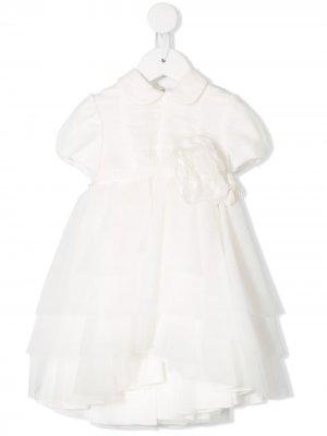 Платье с юбкой из тюля Aletta. Цвет: белый