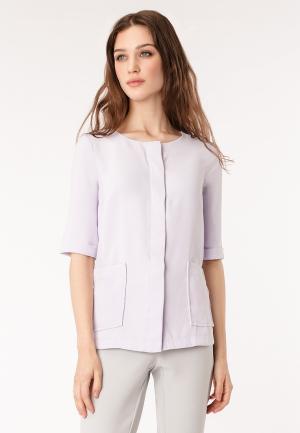 Блуза Pompa. Цвет: фиолетовый