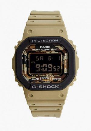 Часы Casio G-SHOCK DW-5610SUS-5ER. Цвет: хаки