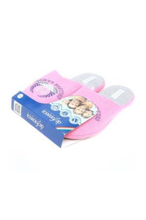Тапки De Fonseca. Цвет: розовый