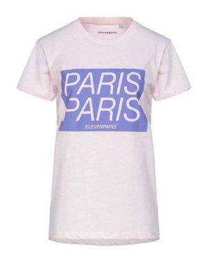 Футболка ELEVEN PARIS. Цвет: розовый