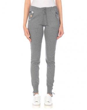 Повседневные брюки BEAYUKMUI. Цвет: серый