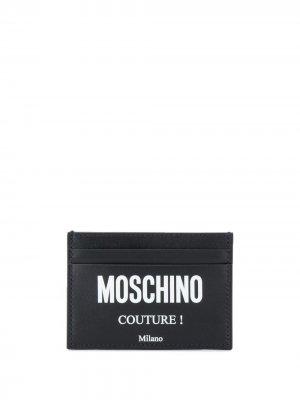 Картхолдер Couture! Moschino. Цвет: черный