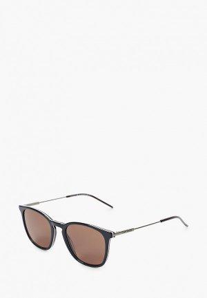 Очки солнцезащитные Tommy Hilfiger TH 1764/S PJP. Цвет: черный