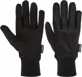 Перчатки BASIC, размер 9 IcePeak. Цвет: черный