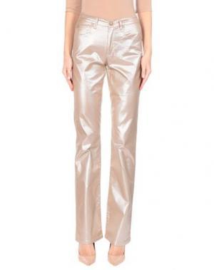 Повседневные брюки ANGELO MARANI. Цвет: хаки