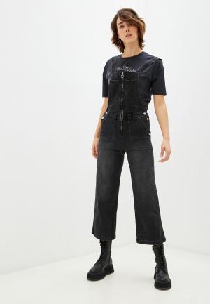 Комбинезон джинсовый Pepe Jeans CLAIRE. Цвет: черный