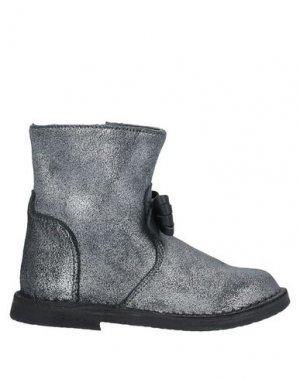 Полусапоги и высокие ботинки EUREKA. Цвет: свинцово-серый