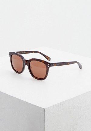 Очки солнцезащитные Gucci GG0571S 002. Цвет: коричневый