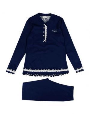 Пижама BLUGIRL BLUMARINE UNDERWEAR. Цвет: темно-синий