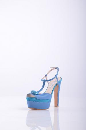 Босоножки, Albano. Цвет: синий
