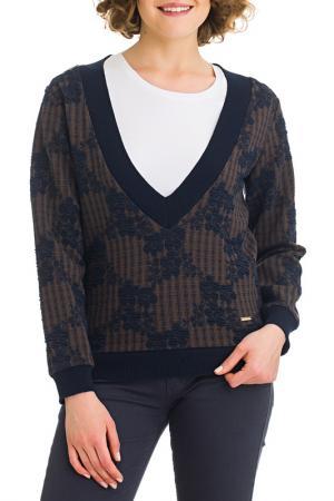Пуловер Galvanni. Цвет: navy