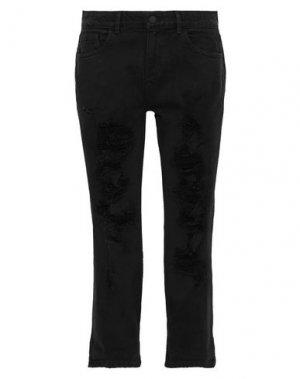Джинсовые брюки ALICE + OLIVIA. Цвет: черный