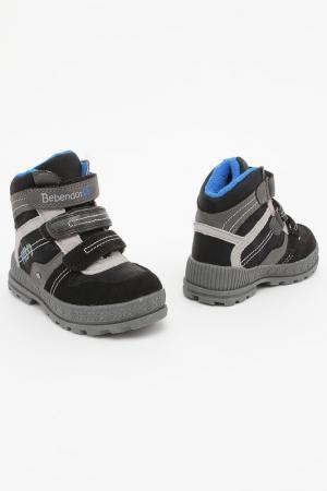 Ботинки Bebendorff. Цвет: черный, серый