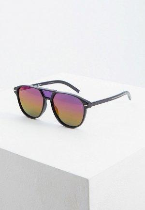 Очки солнцезащитные Christian Dior Homme BLACKTIE263S 807 GREY AR. Цвет: черный