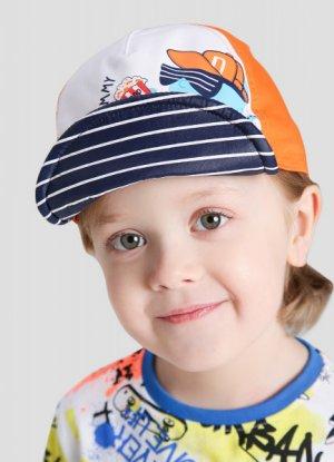 Кепка для мальчиков O`Stin. Цвет: неоновый оранжевый