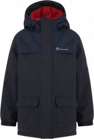 Куртка утепленная для мальчиков , размер 110 Outventure. Цвет: синий