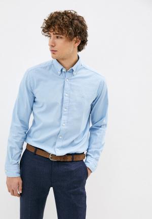 Рубашка Hackett London. Цвет: голубой