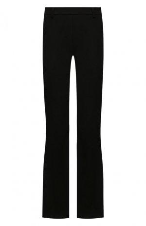 Расклешенные брюки Roque. Цвет: чёрный