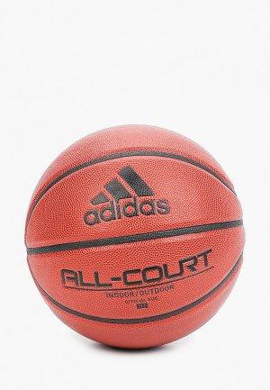 Мяч баскетбольный adidas ALL COURT 2.0. Цвет: коричневый