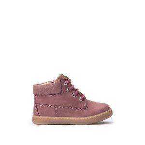 Ботинки LaRedoute. Цвет: розовый