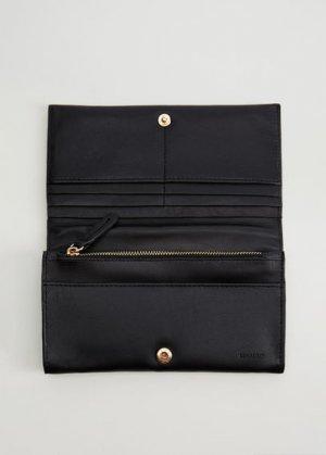 Кожаный бумажник - Napa Mango. Цвет: черный