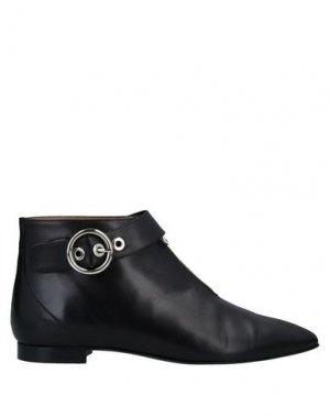 Полусапоги и высокие ботинки ALCHIMIA. Цвет: черный
