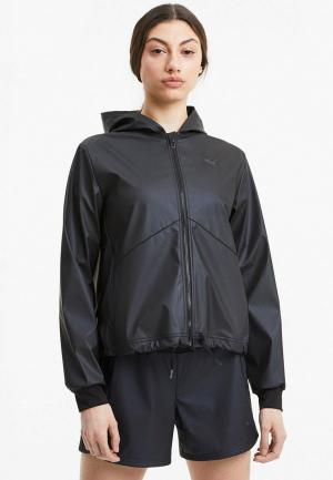 Ветровка PUMA Train Warm Up Shimmer Jacket. Цвет: черный