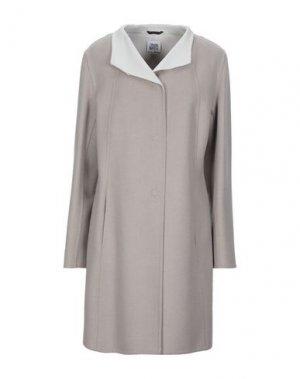 Легкое пальто CINZIA ROCCA. Цвет: светло-серый