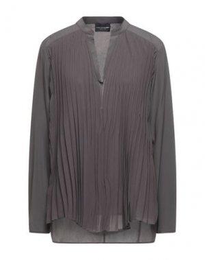 Блузка ATOS LOMBARDINI. Цвет: свинцово-серый