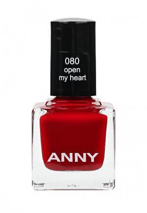 Лак для ногтей Anny тон 80. Цвет: бордовый