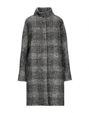 Пальто LES COPAINS. Цвет: черный
