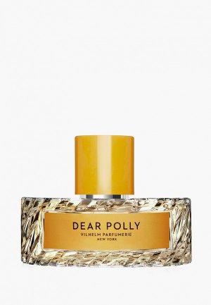 Парфюмерная вода Vilhelm Parfumerie New York DEAR POLLY EDP, 100 мл. Цвет: прозрачный
