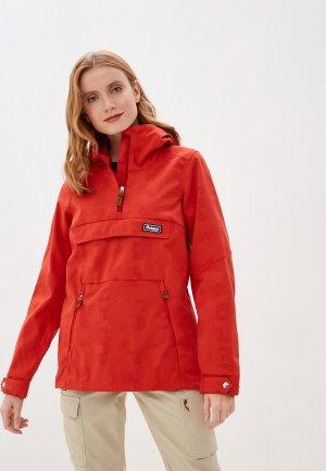 Куртка Bergans of Norway. Цвет: красный