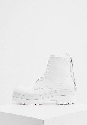 Ботинки RED(V). Цвет: белый