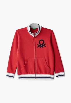 Олимпийка United Colors of Benetton. Цвет: красный