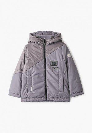 Куртка утепленная АксАрт. Цвет: серый