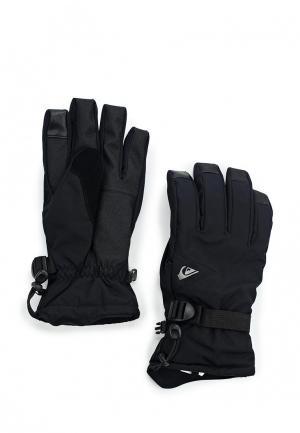Перчатки горнолыжные Quiksilver Mission Glove. Цвет: черный