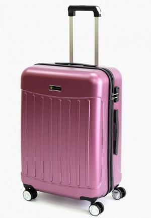Чемодан Sunvoyage S. Цвет: розовый