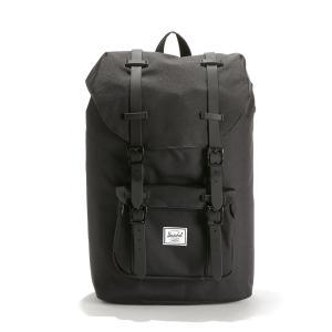 Рюкзак LITTLE AMERICA MID 17 л для ноутбука 13 HERSCHEL. Цвет: черный
