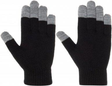 Перчатки для мальчиков , размер 14 Demix. Цвет: черный