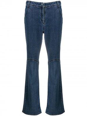 Прямые джинсы 2007-го года Chanel Pre-Owned. Цвет: синий