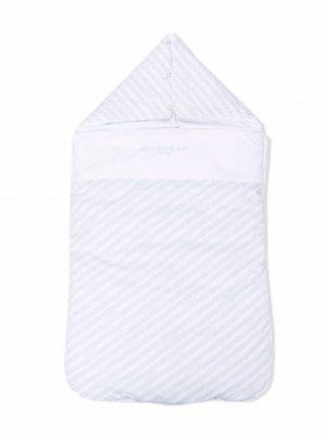Logo-print sleep bag Givenchy Kids. Цвет: белый
