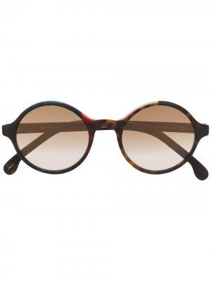 Солнцезащитные очки Beaufort PAUL SMITH. Цвет: коричневый