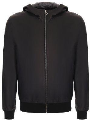 Куртка-бомбер кожаная SERAPHIN
