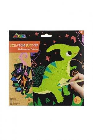 Гравюра : Динозавры Avenir. Цвет: зеленый