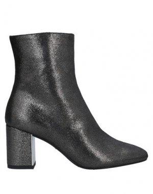 Полусапоги и высокие ботинки ROBERTO FESTA. Цвет: свинцово-серый